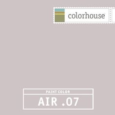 Colorhouse AIR .07: Inspiried by the earthiness of lavendar fields, AIR .07 is a beautiful hue for both urban living rooms and country kitchens.
