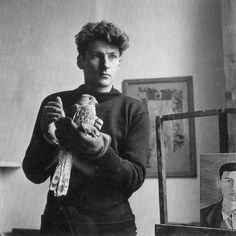 Lucien Freud, aged 25, in 1947