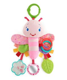 Take a look at this Flutter Friend Sensory Plush Toy by Bright Starts on #zulily today!