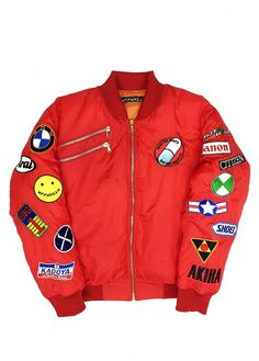 Akira Red Bomber Jacket