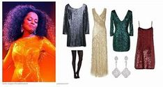 image result for diana ross costume