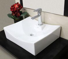 Lavabo minimalista de la l nea premium de cato cuadrato for Lavabo minimalista