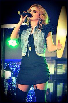On stage - Natalia Selegean