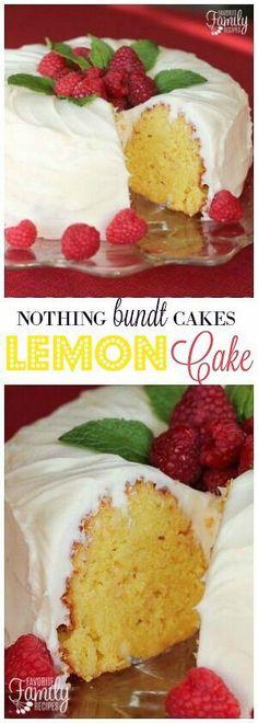 This Nothing Bundt Cakes Lemon Cake Copycat recipe tastes just like the original! A sweet, tart cake with an AMAZING cream cheese frosting. #lemoncake #bundtcake #cake