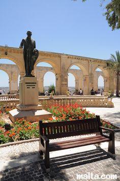 Upper Barrakka Gardens - Valletta, Malta