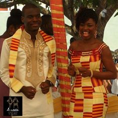 African Sweetheart: Our Favourite KENTE Looks To Celebrate Ghana's 57th Independence Day! #africanwedding #kente
