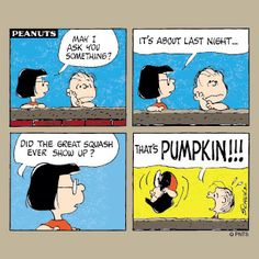 The day after Halloween.