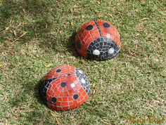 ladybug mosaics on The Owner-Builder Network  http://theownerbuildernetwork.com.au/wp-content/blogs.dir/1/files/mosaic/Mosaic21.jpg