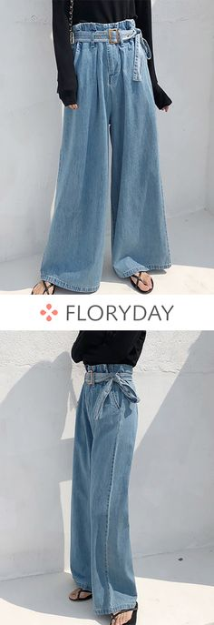 Loose Jeans Pants & Leggings - How To Be Trendy Loose Jeans, Jeans Denim, Jeans Pants, Leggings Are Not Pants, Shorts, Casual Jeans, Loose Pants Outfit, Jeans Leggings, Denim Fashion