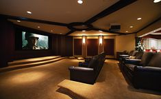 Home Theatre ideas for new house!