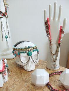 Mava Haze Vida de Hoy  #skull - necklaces - jewellery