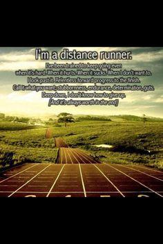 Marathon running..this is my new sport!!!