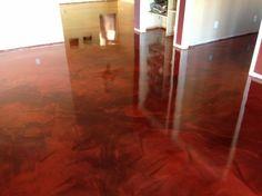 epoxy reflector flooring | Epoxy Reflective Flooring in Metallic Finish Over Concrete Floors in ...