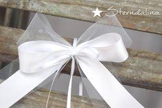 Hochzeitsdeko - 10 Stck. Antennenschleifen Autoschleife Hochzeit  - ein Designerstück von Sterndalina bei DaWanda