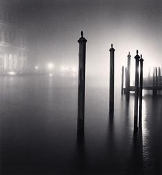 Night Docking Poles, Venice, Italy, 2007 by Michael Kenna