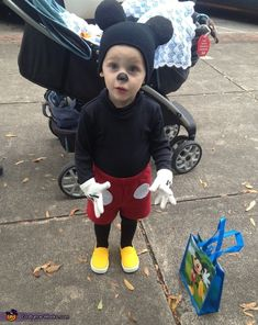 Crystal: This is Easton and he just turned 2 years old. Last year, after looking and looking, I could not find any store bought costumes I liked. So, I decided I...