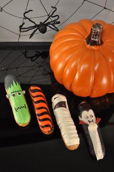 Halloween eclairs at Pitchoun!