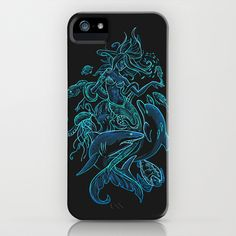 Dangerously Deep attraction iPhone Case by Lindsey Kellis Meredith - $35.00