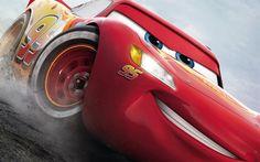 Herunterladen hintergrundbild cars 3, 2017, lightning mcqueen, neue cartoons
