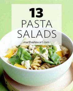 13 picnic perfect pasta salads just in time for summer.