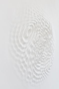 7while23:  Loris Cecchini, Wallwave Vibration (Asynchronous Emotion), 2012 (Polyester resin, paint)