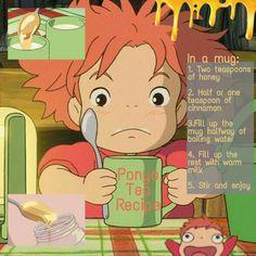 Studio Ghibli Art, Studio Ghibli Movies, Miyazaki, Aesthetic Food, Aesthetic Anime, Totoro, Disney Inspired Food, Food Themes, Animes Wallpapers