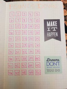 Bullet Journal for Weight Loss: Layout Ideas FREE Printable