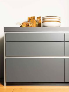 handleless kitchen drawers ANGLED - Google Search