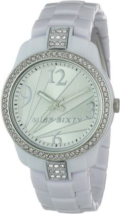 Miss Sixty Ladies Watch Sra007 In Collection Jungle, 3 H and S, Silver Dial and Write Strap has been published to http://www.discounted-quality-watches.com/2012/03/miss-sixty-ladies-watch-sra007-in-collection-jungle-3-h-and-s-silver-dial-and-write-strap/