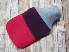 100% Cashmere Hot Water Bottle Cover - Upcycled Sweater - Patchwork - Cozy Eco Friendly Sleeve by TrulySimple on Etsy https://www.etsy.com/listing/494034363/100-cashmere-hot-water-bottle-cover