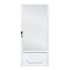 Aluminum Storm Doors with the highest quality, durability and strength! Aluminum Storm Doors, Aluminum Screen Doors, Keep An Eye On, Entry Doors, Tall Cabinet Storage, Aluminum Gates, Entrance Doors