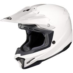 HJC Solid Mens CLX7 OffRoad/Dirt Bike Motorcycle Helmet  White / Medium ** Check out this great product. (This is an affiliate link) #PopularDirtBike