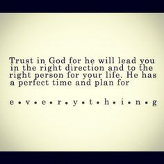 Surrendering to His ways, His will.. In His Perfect Time ❤