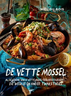 De Vette Mossel is nie net 'n seekos-resepteboek nie. Dit is 'n kosboek met 'n verskil. Afrikaans, Japchae, Beef, Ethnic Recipes, Van, Food, Collection, Meat, Vans