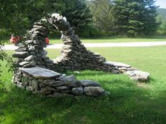 Absolutely stunning. Love her work! Several others to look at here. Stone Art Blog: Stone Woman, Thea Alvin