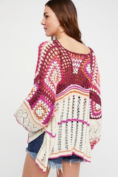 Slide View 2: Call Me Crochet Top #crochetdresses