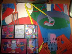 Michael Craig Martin artist page Michael Craig, High School Art Projects, Year 8, Crafts For Seniors, Sketch Books, Sketchbook Pages, A Level Art, Arts Ed, Youth Culture