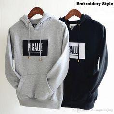 Hoodies & Sweatshirts Wholesaler Shuangmianjing Sells Brand Men'S Clothing Pigalle Hoodies Men Hip Hop Sport Skateboard Tracksuit Embroidery Women Sweatshirt Pullover Sudaderas Hombre | Dhgate.Com