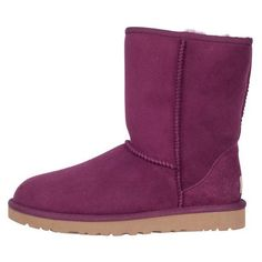 UGG Australia Womens Classic Short Aster ($155) ❤ liked on Polyvore featuring ugg australia