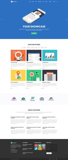 Display your projects in a stunning way with Optimize WordPress theme.  #wordpress #theme #webdesign #design #seo #marketing #digitalmarketing #marketingagency #startup #hosting #socialmedia #interactive #analytics #infographic