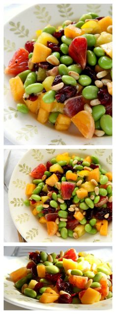 Fruity, vegan Edamam