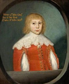 Henry St. John, Great-Great Grandson of Mary BoleynHenry St. John was born in 1638. He was the son of Sir John St. John, 1st Bt. and Anne Leighton. He died in 1679.    His direct line from Mary Boleyn:  Catherine Carey  Elizabeth Knollys  Anne Leighton  Henry St. John