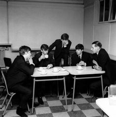 Tea time with George Martin