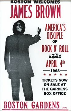 "James Brown Disciple of Rock and Roll 1968 14"" X 22"" Vintage Style Concert Poster Wild Bill's Nostalgia,http://www.amazon.com/dp/B007UGU638/ref=cm_sw_r_pi_dp_gcuLsb09VJEN2FQS"