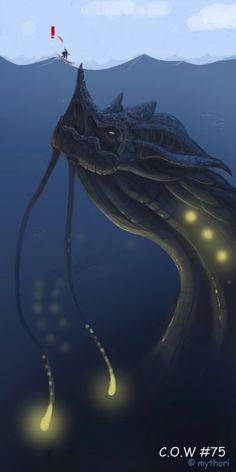 Reasons I fear the ocean #18.