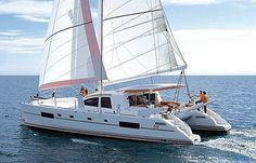 Catana 50 Ocean. 5 Cabins, 8+2 Berths. Available for charter in France, Bahamas, Cuba, French Polynesia and Saint Martin