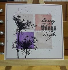Annemieke's creatieve kaarten: Love small things in live...