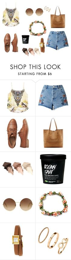 """""""hipster"""" by akidesekerii on Polyvore featuring moda, Miss Selfridge, Gap, Sole Society, Urban Decay, Victoria Beckham ve Gucci"""
