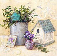 Мобильный LiveInternet Цветы Прованса Angela Staehling | Сельфида77777777777 - Дневник Сельфида777 |