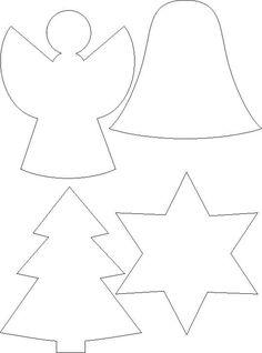 Christmas Sewing, Christmas Embroidery, Christmas Fabric, Christmas Wood, Christmas Crafts For Kids, Xmas Crafts, Christmas Colors, Printable Christmas Ornaments, Christmas Templates